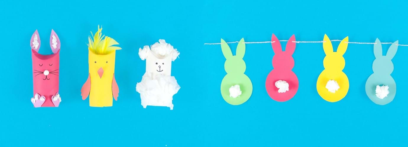 2 Easter Crafts For Kids Made Out Of Recycled Cardboard Cushelle